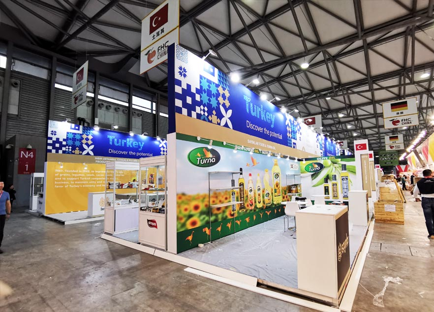 Interwine China stand contractor for Turkey