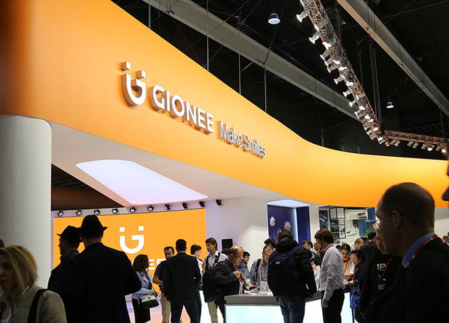 MWC China Booth Design And Construction For GIONEE