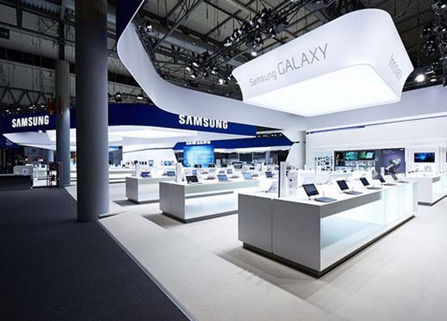 MWC China Booth Design And Construction For Samsung