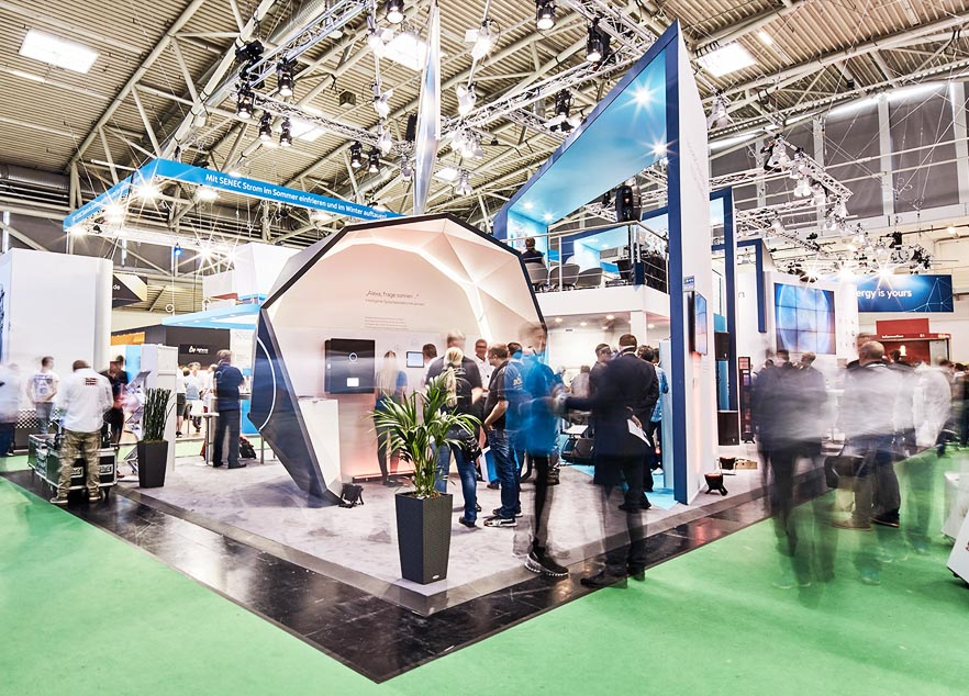 SNEC Booth Design and construction for Sonnen