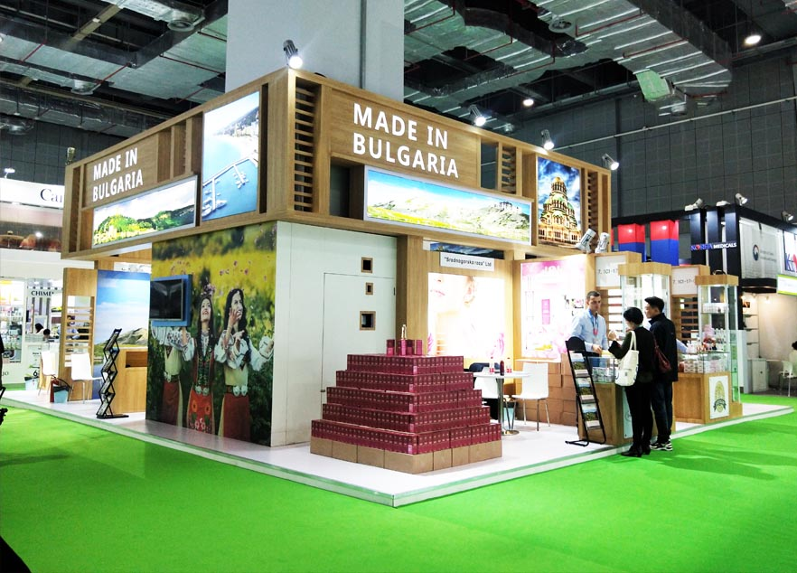 China exhibition stand contractor for CIIE